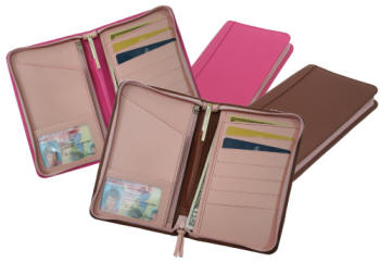 porte documents en cuir
